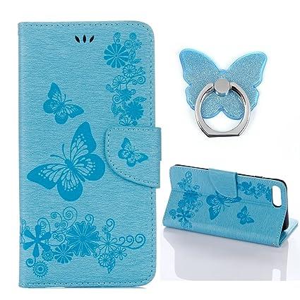 Amazon BONTOUJOUR Iphone 60 Iphone 60 Wallet Case Brilliant Gorgeous Butterfly Pattern