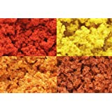 Autumn 3 Color Clump Foliage Mix Hobby Round GF9GFS015 Gale Force Nine