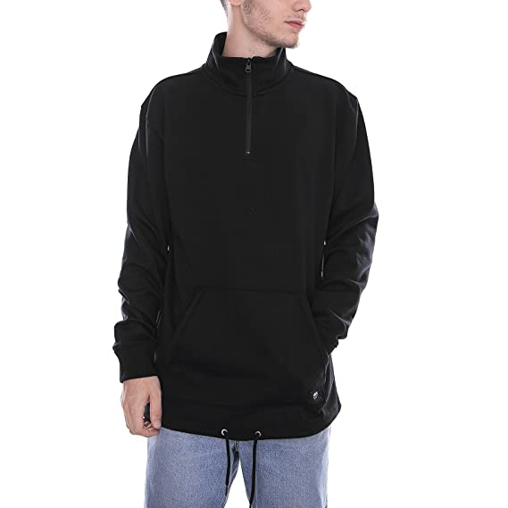 5898ab9b16 Vans - Sweatshirt - MN Versa QZP DX Black  Amazon.co.uk  Clothing