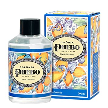 Amazon.com : Linha Mediterraneo Phebo - Deo Colonia Limao Siciliano 200 Ml - (Phebo Mediterranian Collection - Eau de Cologne Sicilian Lemon 6.8 Fl Oz) : ...