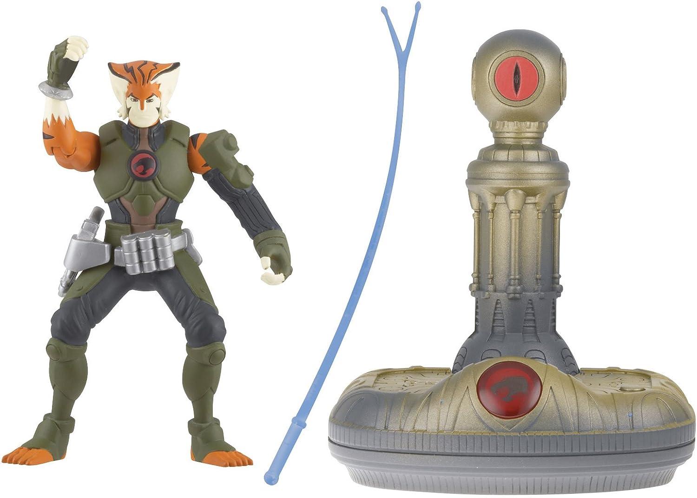MummRa Snarf LionO Bandai Thundercats 4 Inch Basic Action Figures Eye of Thundera 4Pack Tygra