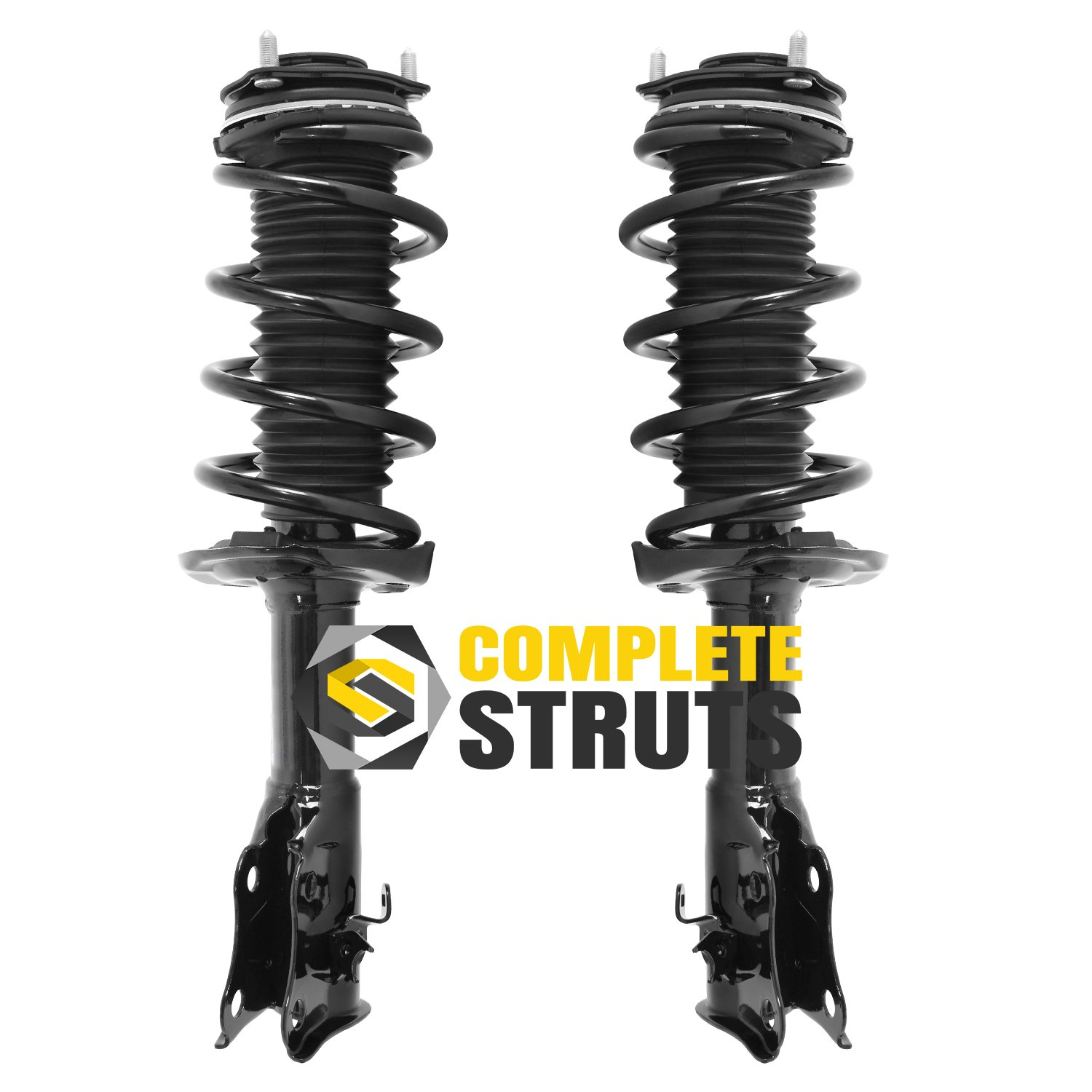 Pair Front Quick Complete Struts /& Coil Spring Assemblies Compatible with 2006-2011 Honda Civic Coupe