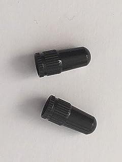 HT Anodized Machined American Schrader Type Valve Cap Tire Valve Caps,2pcs