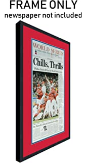 Amazon the philadelphia inquirer newspaper frame with the philadelphia inquirer newspaper frame with philadelphia phillies colors double mat solutioingenieria Choice Image