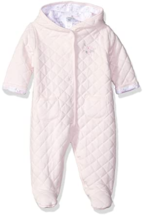 b22ef6699 Amazon.com: Little Me Baby Girls Quilted Pram: Clothing