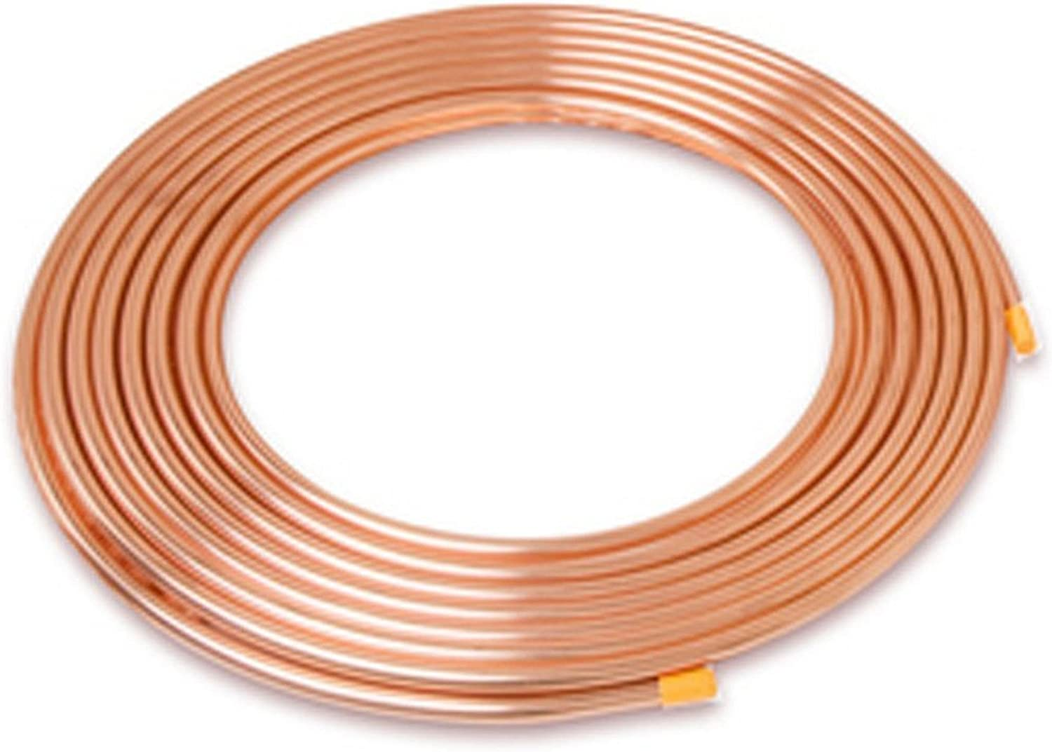 5 Pieces 3//8 Inch OD Soft Copper Tubing Minimum 12 inches long 3//8