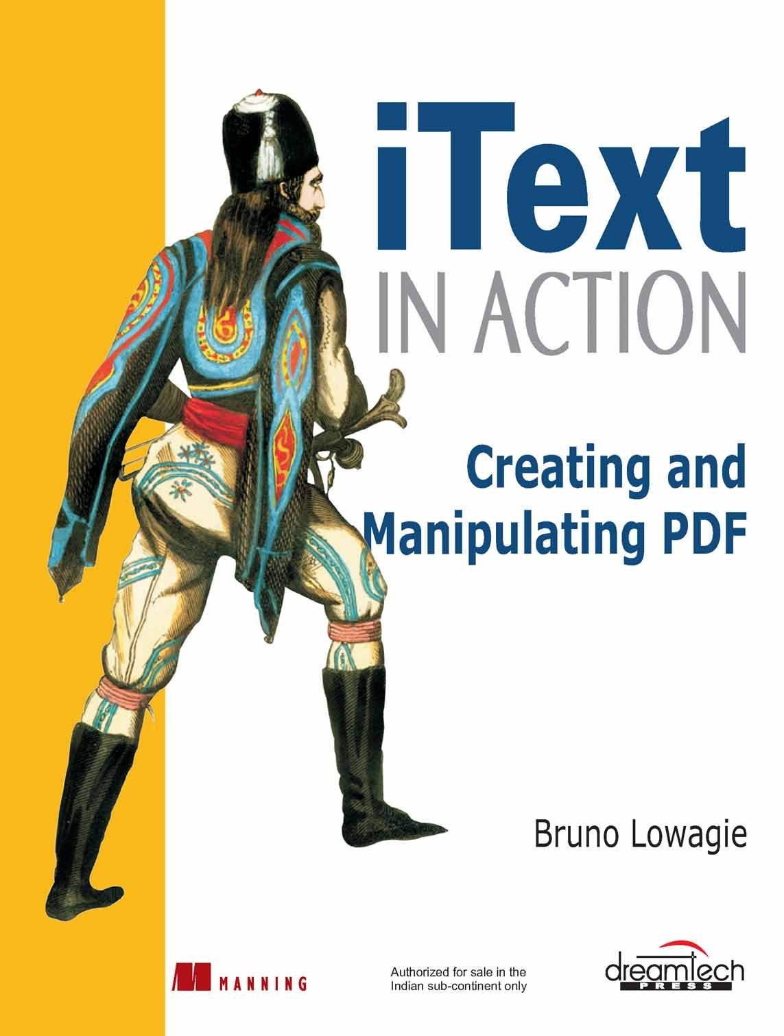 Buy Itext In Action Creating And Manipulating Pdf Book Online At