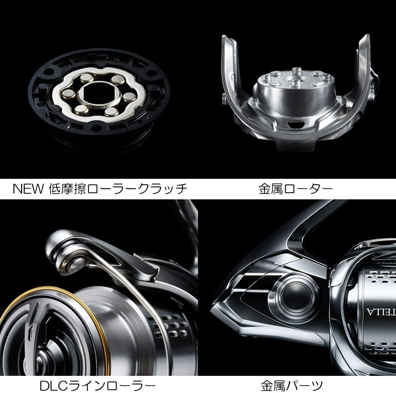 SHIMANO 18 STELLA C2500SHG Japan New