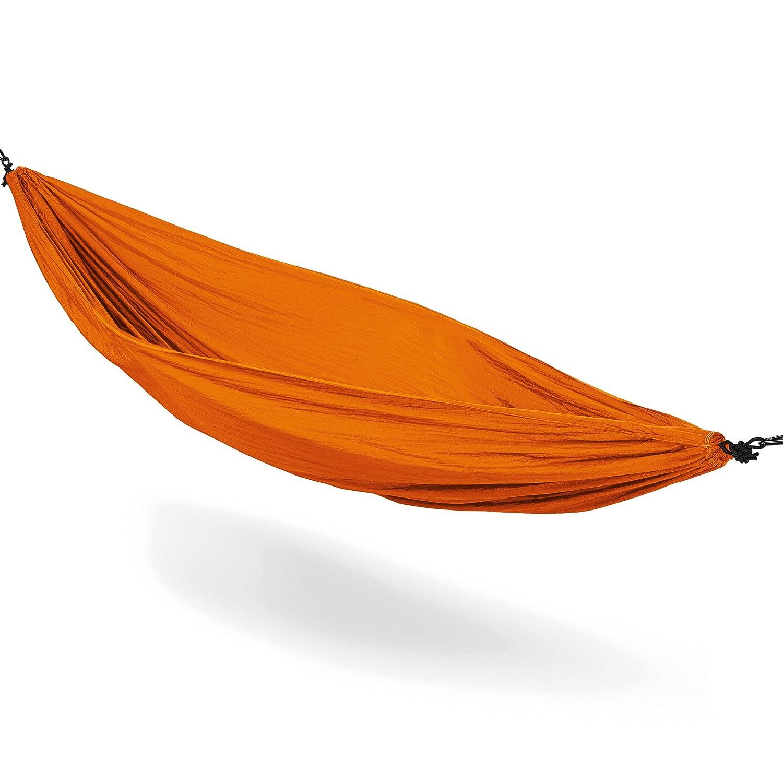 MELIANDA MA-16000 Ultraleichte Nylon Hängematte (270x140 cm, 180 kg Traglast) Outdoor Trekking Camping in Dark Green