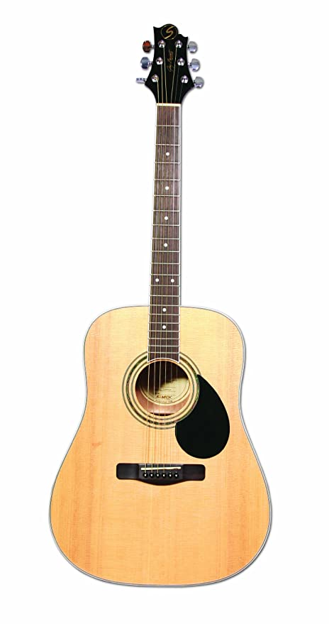 Amazon.com: Samick Greg Bennett Design GD100S Acoustic Guitar, Natural: Musical Instruments