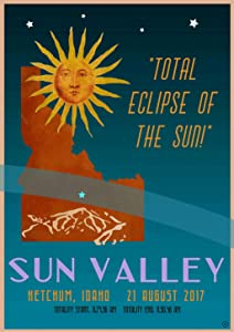 Sun Valley Total Eclipse 2017 Print