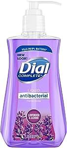 Dial Antibacterial Liquid Hand Soap, Lavender & Twilight Jasmine, 7.5 Fl Oz (Pack of 1)