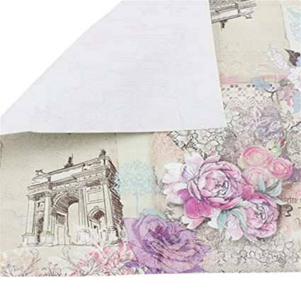 Amazon.com Chiced 20 Pcs/Lot Printed Feature Rose Paper