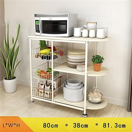 Mobili da cucina Mensole per cucina rack per forno a microonde ...