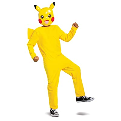 Disguise Pikachu Pokemon Classic Costume: Toys & Games