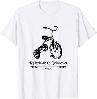 Amazon.com: Key Peninsula Co-Op Preschool T-shirt 2018 ...