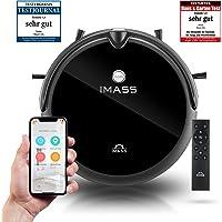 IMASS Saugroboter mit Wischfunktion A3 Perfect Clean, 3in1 elektrischer Staubsauger Roboter und Wischroboter mit Wassertank und Kamera, für Hartböden, Teppiche, Fließen, geeignet für Tierhaare, Wifi