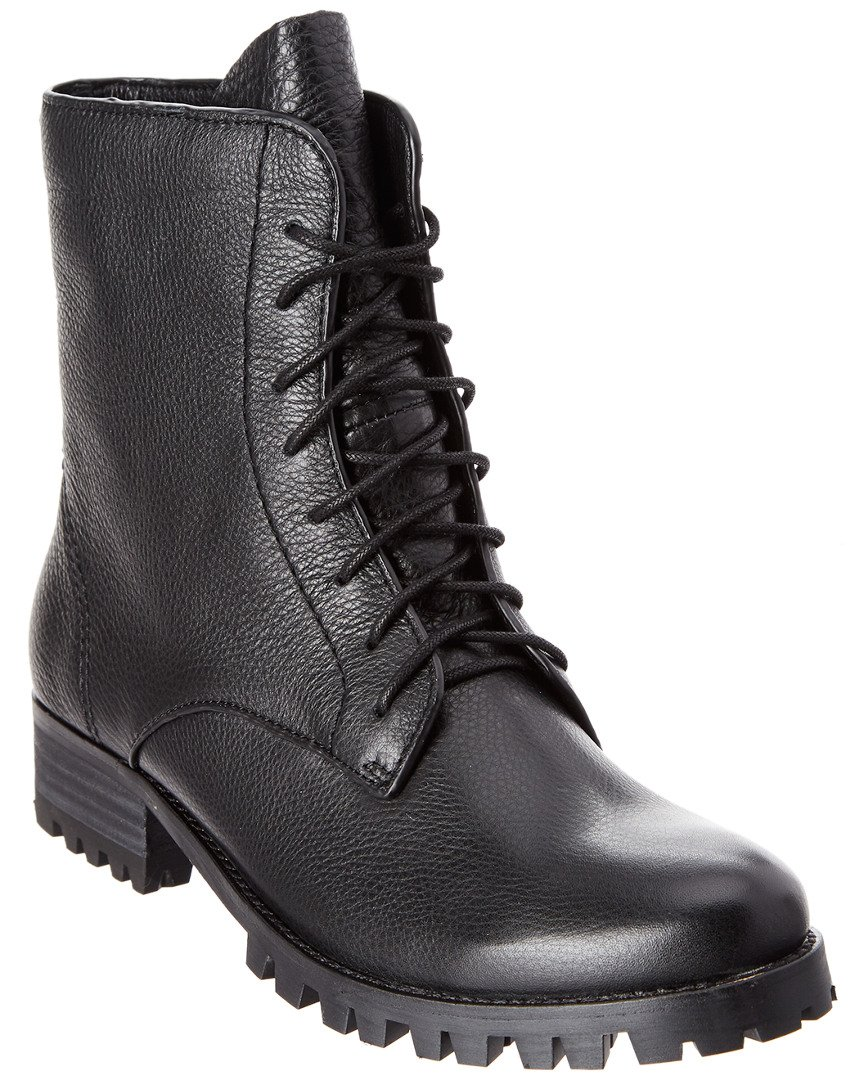 Splendid Women's Romy II Combat Boot, Black, 7.5 M US