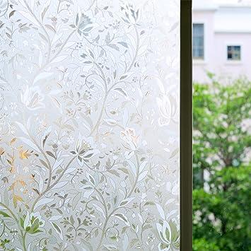 Amazoncom Bloss Window Film Privacy Film Window Cling Film - Window clings for home privacy