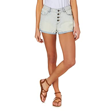 Roxy Way Back - Denim Shorts for Women ERJDS03112: Roxy: Amazon.co.uk:  Sports & Outdoors