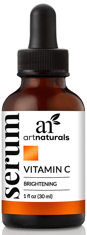 ArtNaturals Anti-Aging Vitamin C Serum - (1 Fl Oz / 30ml) - with Hyaluronic Acid and Vit E - Wrinkle Repairs Dark Circles, Fades Age Spots and Sun Damage - Enhanced 20% Vitamin C ANGA-0120