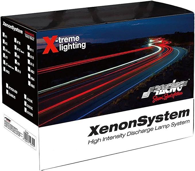 attacco H4 Simoni Racing C6H4 Kit Xenon slim canbus fascio doppio