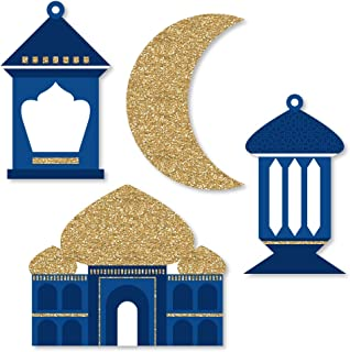 product image for Big Dot of Happiness Ramadan - DIY Shaped Eid Mubarak Cut-Outs - 24 Count