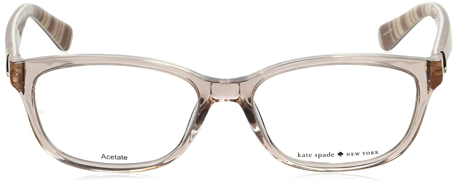 kate spade eyeglasses brylie 0qgx beige striped white at amazon menu0027s clothing store - Kate Spade Frames