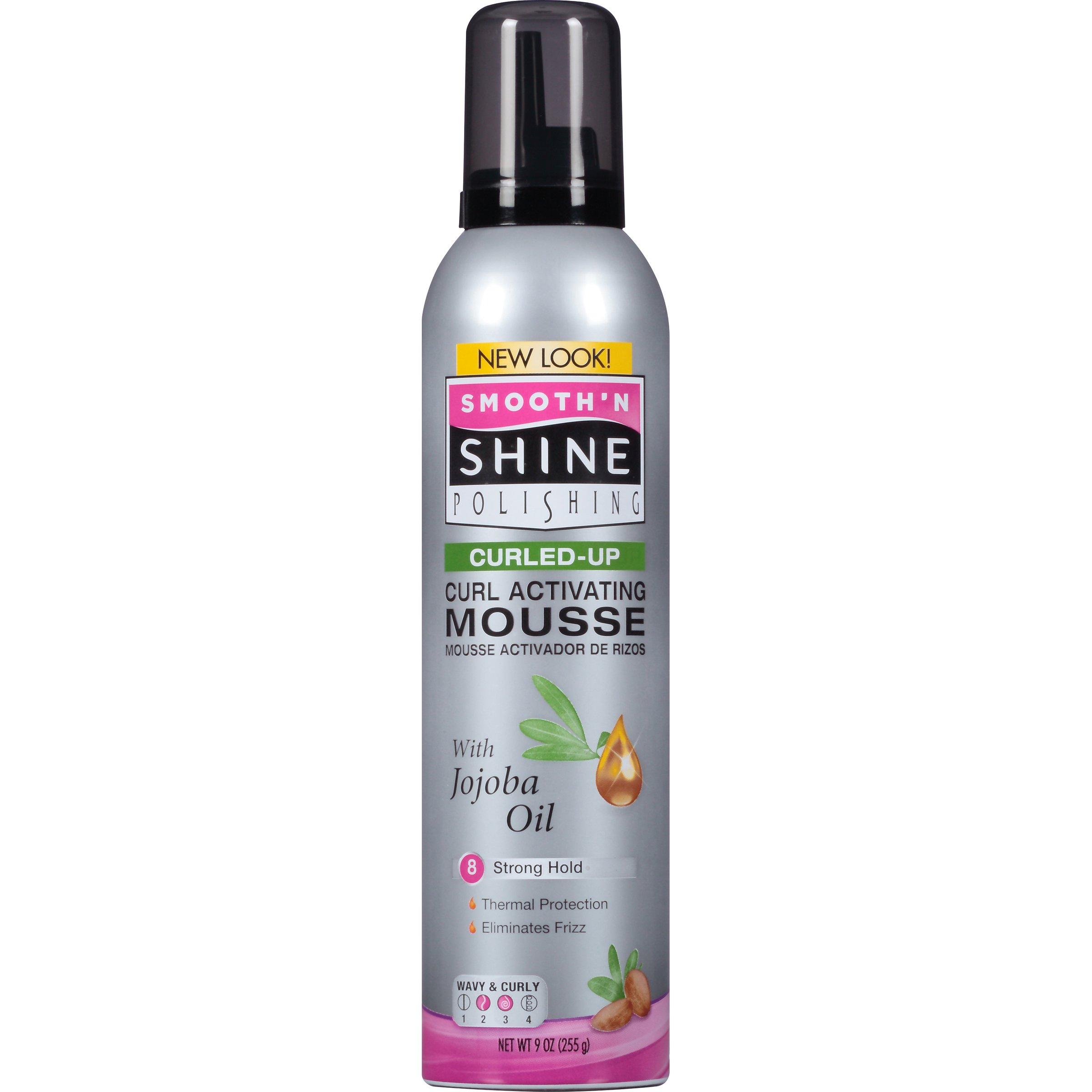 Smooth N Shine Curling Mousse, 9-Ounce (Pack of 6)