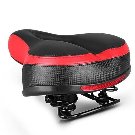 Dianzishangcheng - Cómodo asiento para bicicleta, cómodo cojín ...