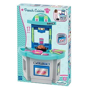 1118 Platzsparende Spielküche - Kinderküche Küche mit Zubehör Kinder ...