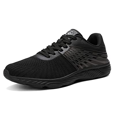 aa2937cbdbfd AX BOXING Men s Sneakers Mesh Ultra Lightweight Breathable Athletic Running  Walking Gym Shoes (8 M