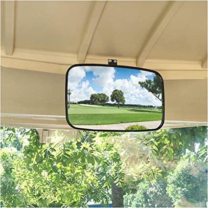 Clip-on Wide Angle Rearview Mirror 17.75 Viewing Area Fit System RM011 18