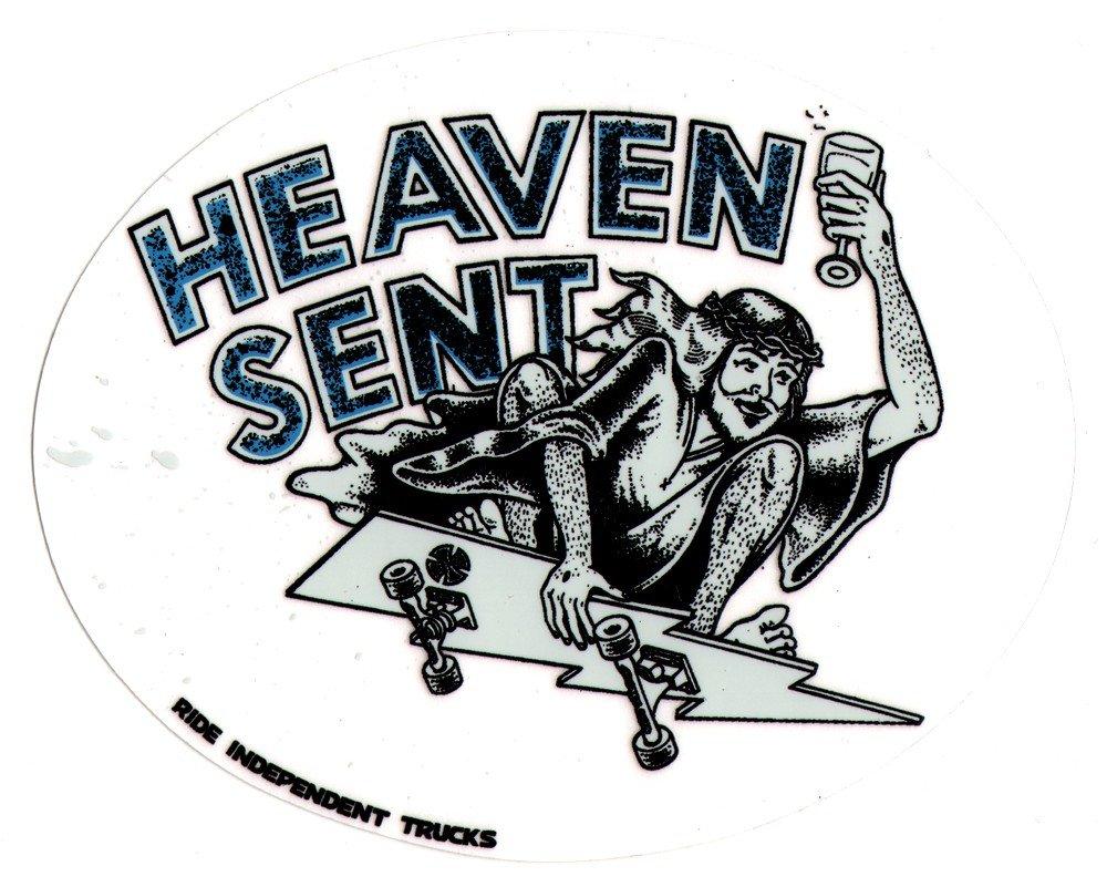Independent Trucks - Heaven Sent Skateboard Sticker - 12.5cm wide approx. skate snow surf board ipad