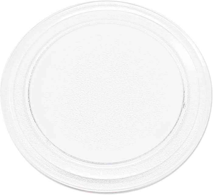 "Replacement for Oster OGYU701 Microwave Glass Plate - Compatible with Oster 3390W1A035 Microwave Glass Turntable Tray - 9 5/8"" (245 mm)"