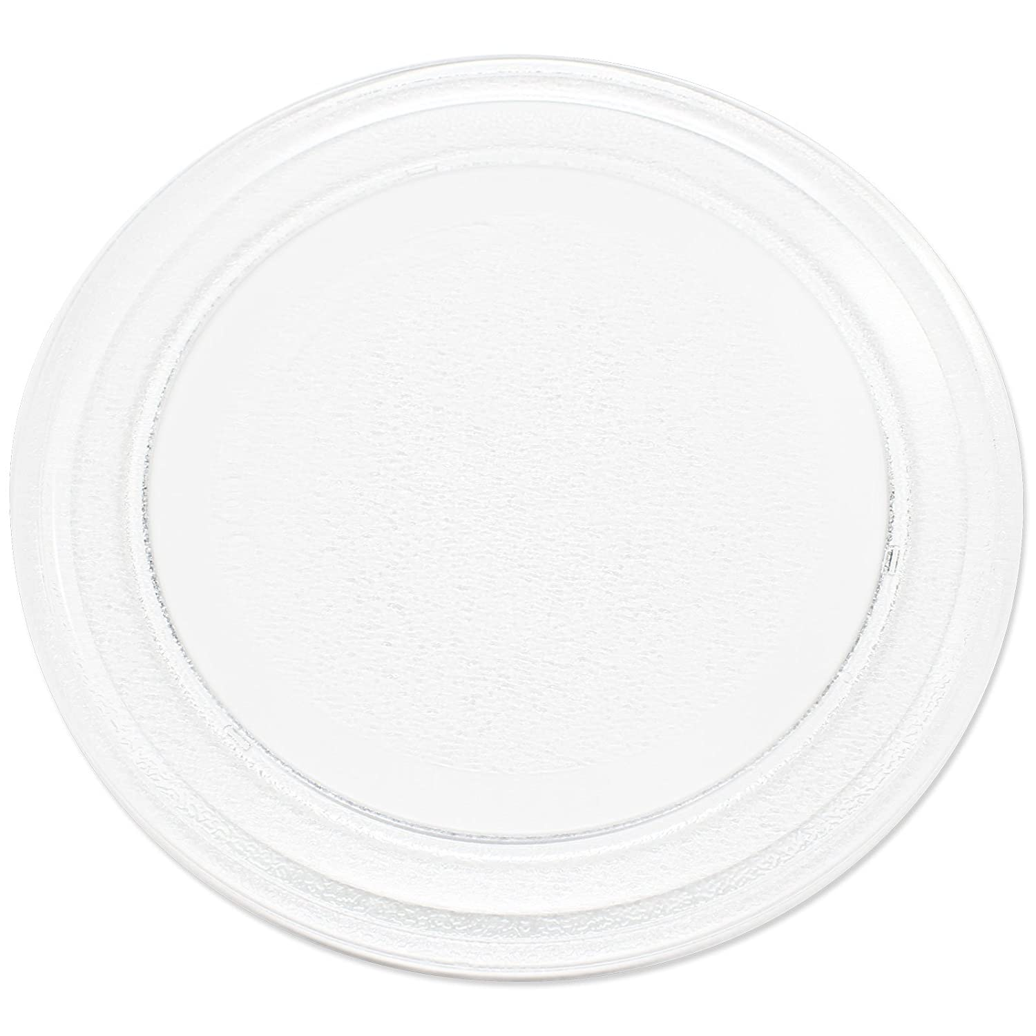 "Microwave Glass Plate Replacement for Oster, Emerson, Sunbeam, Haier, Rival, RCA, Panasonic, LG - Compatible with Oster OGG3701, Emerson MW8781SB, Sunbeam SM0701A7E, Oster OGYU701 - 9 5/8"" (245 mm)"