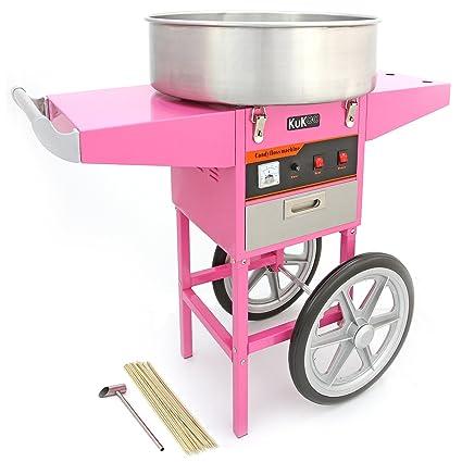 KuKoo Gastro Azúcar Eléctrica Azúcar dispositivo Azúcar Incluye carro con 2 ruedas y cajón gratis 500
