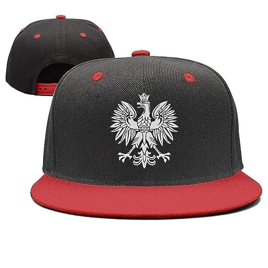 quality design ef210 7a7e7 Lenard Hughes Unisex Polska Eagle Poland Pride Baseball Hats Adjustable  Hip-Hop Caps at Amazon Men s Clothing store