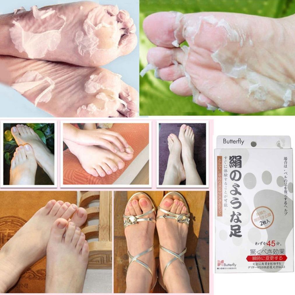 Foot Mask,Clode® Exfoliating Socks Foot Peel Mask Peeling Away Dry Dead Skin Callus Remove Clode-W871