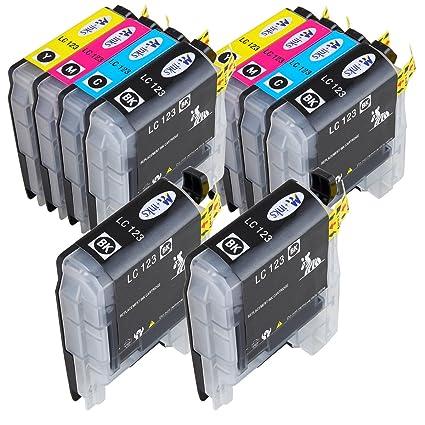AA + inks LC123 X L - Cartuchos para impresora Brother LC ...