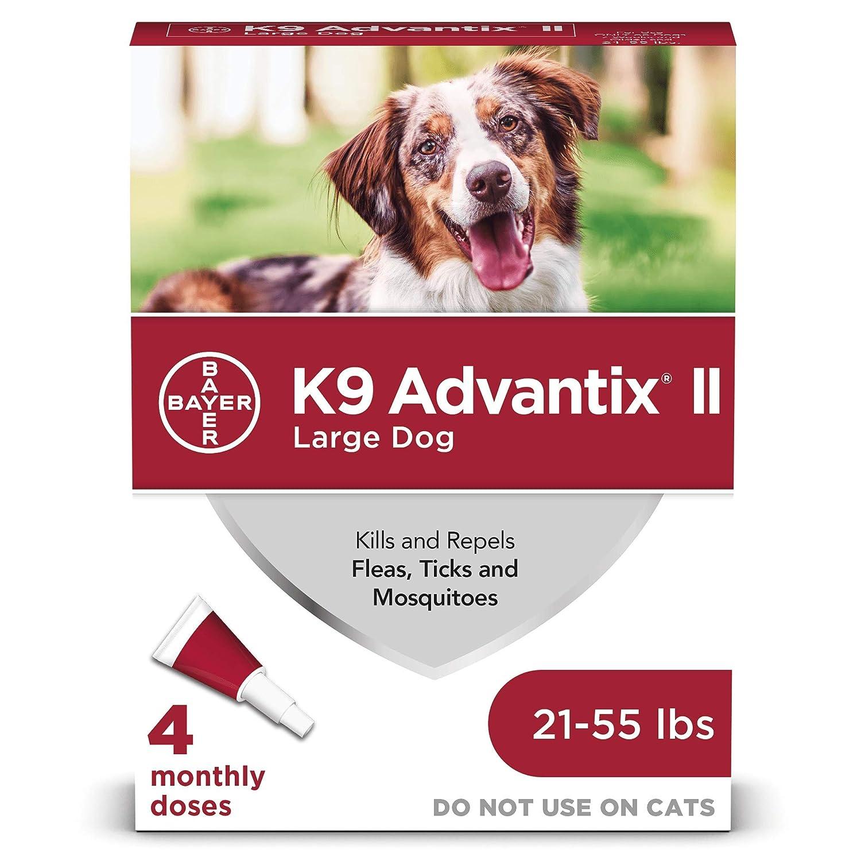 K9 Advantix Ii Red 2.5ml 21 - 55lb 4pk: Amazon.es: Productos para mascotas