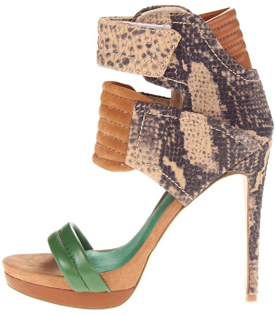 Calaier Mujer Cadifferent Tacón De Aguja 12CM Sintético Elástico Zapatos de tacón 42.5|Varios colores C