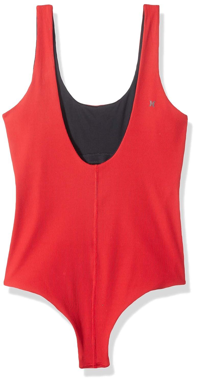25ac0ec95d4 Amazon.com: Hurley Women's Quick Dry Merica' USA 1-Piece Swimsuit Bodysuit:  Clothing