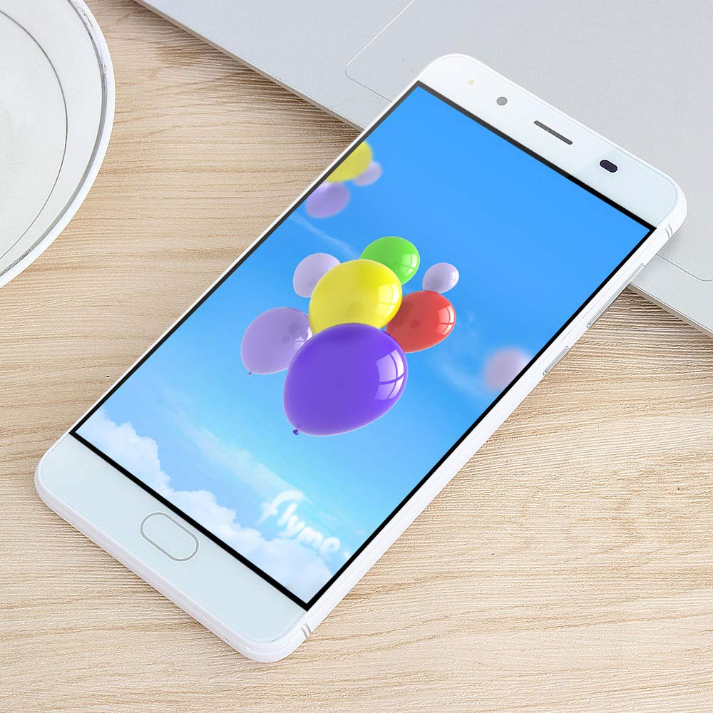 Smart Phone 5.0''Ultrathin Android 5.1 Quad-Core 512MB+4GB GSM 3G WiFi Dual Smartphone (Product Size: 144x71.8x8.8mm, White) by SUNSEE ELECTRONICS (Image #8)