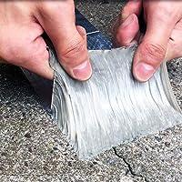 ROSEROSA Professional Waterproof Butyl Rubber Tape External Aluminium Foil Suitable for Roof Leak, Surface Crack, Window…