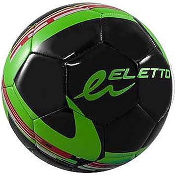 Eletto lna-25 tacto suave balón de fútbol, Black / Neon Green ...