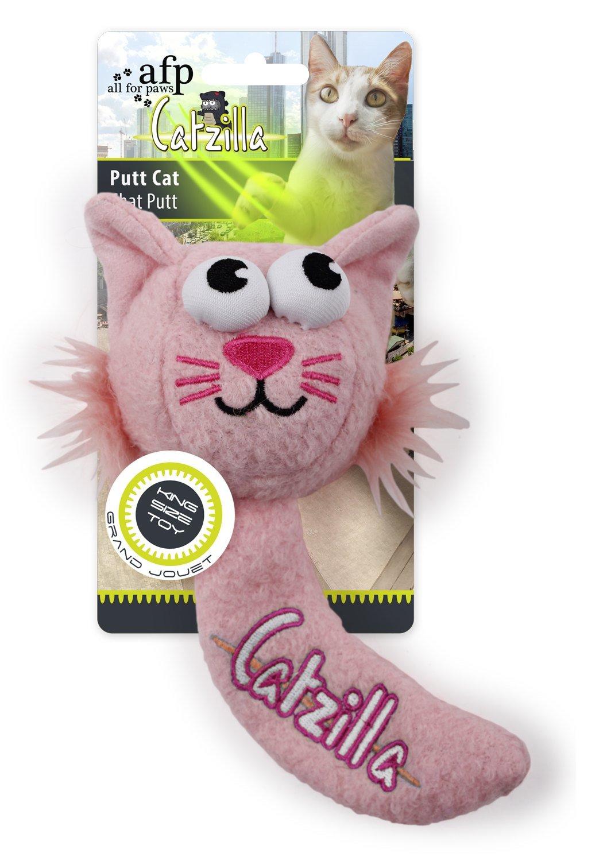 /Putt Cat/ /Cat Toy Extra Large/ /Pink CATZILLA/