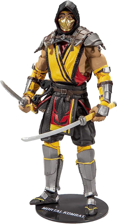 Mortal Kombat Scorpion et Sub-Zero 7-inch Action Figures Set MK XI série 1