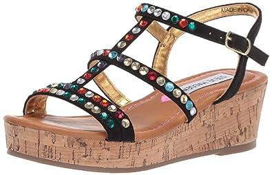 3f5e540b8b0c Steve Madden Girls  JJEWELLA Wedge Sandal