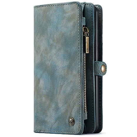 073e7c7838e52 Geldbörse mit Handyfach für Huawei Mate 20 Handytasche Handyhülle Kredit  Karten Fach Geldklammer Flip Case Klapphülle
